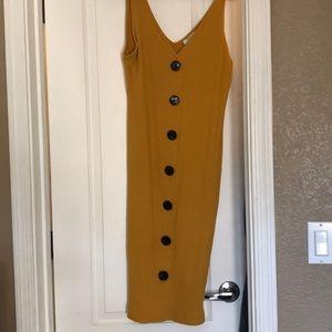 Forever 21 Midi Dress Size XL